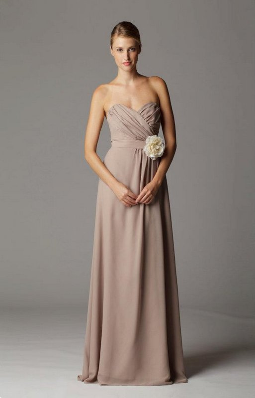 sweetheart strapless bridesmaid dress - Lily &amp Iris - Finally ...
