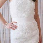 short wedding and reception dresses in utah