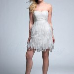 utah short wedding reception dresses