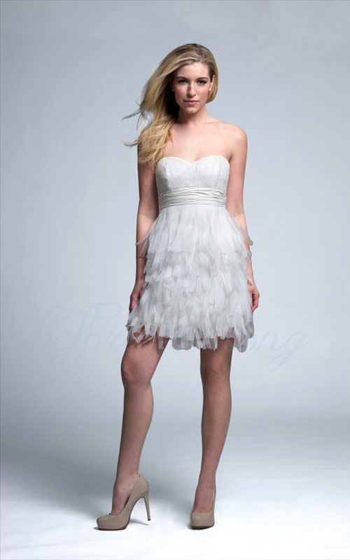 Utah wedding dresses short casual and reception dresses Dresses for wedding reception