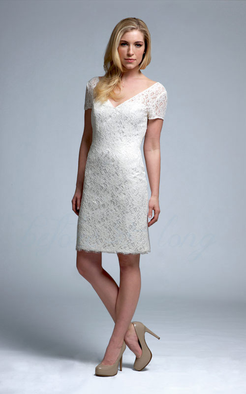 Utah Wedding Dresses -short, casual, and reception dresses
