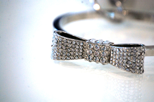 Jeweled Cuff for Bridal Clutch