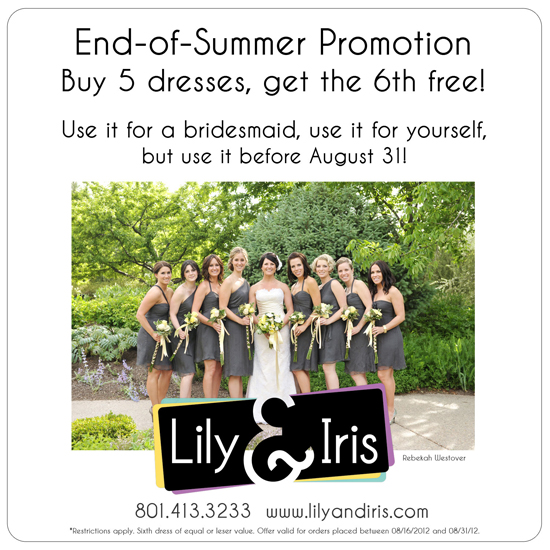 bridesmaids dress sale