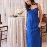 amsale blue bridesmaids dresses in utah