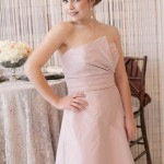 taffeta bridesmaids dresses by amsale in utah