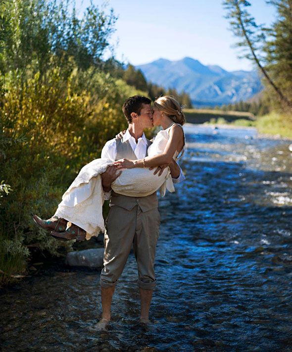 Big Sky Montana wedding