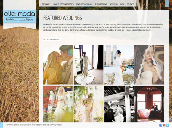 Featured Utah weddings