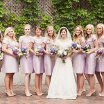 Modest bridesmaids dresses Utah
