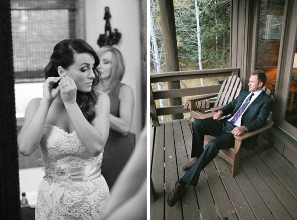 sundance utah fall wedding