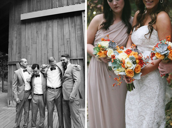 utah sundance resort wedding bridesmaids