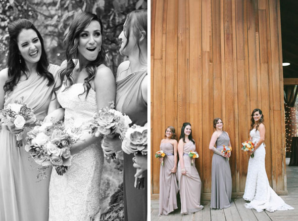 utah fall bridesmaids at Sundance resort