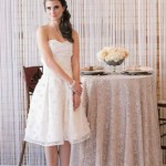 Aria short wedding and reception dresses