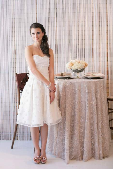 Wedding Reception Party Dresses Bride