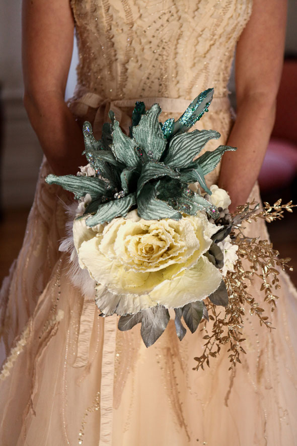 winter wedding flowers in Utah