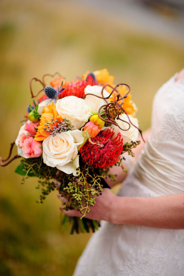 Utah wedding flowers