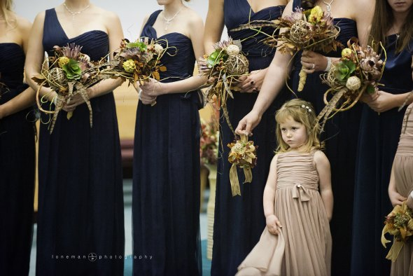 flower girls for Montana weddings