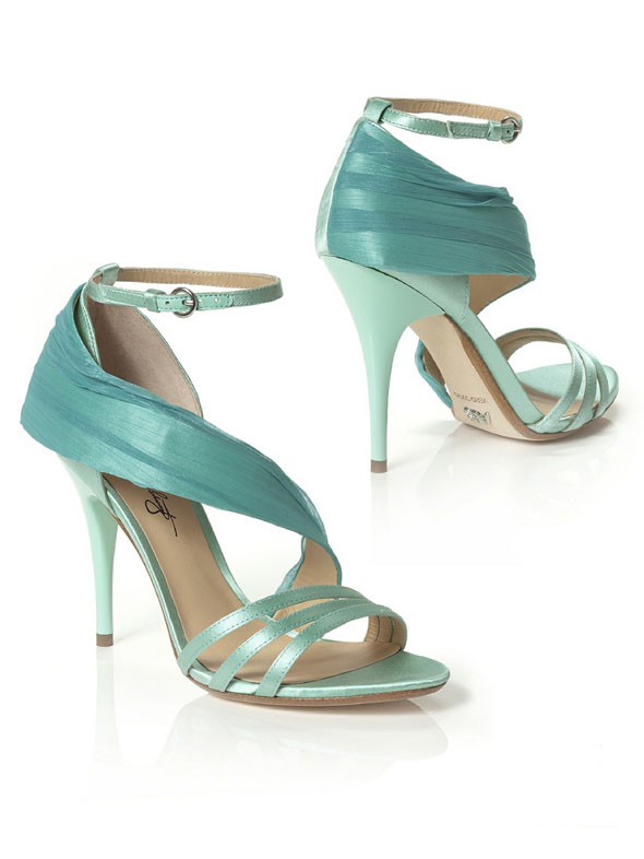 something blue wedding shoes from dessy bridesmaids