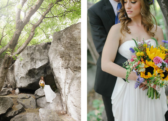 Utah spring wedding dress