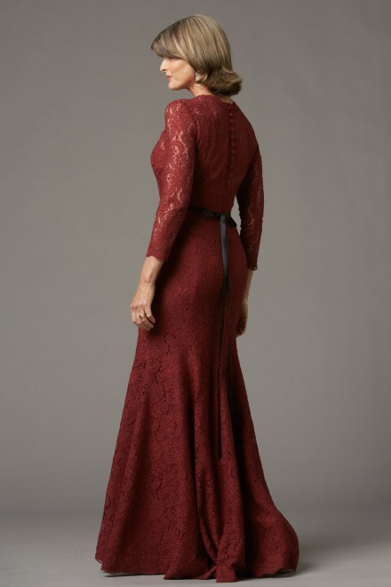 modest mother of the bride dress from watters utah