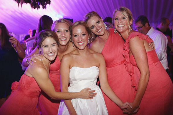 sun valley idaho coral bridesmaids by amsale