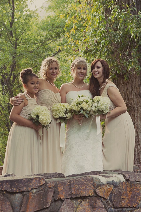 champagne after six bridesmaid dresses at millcreek inn wedding- photo by alixann loosle