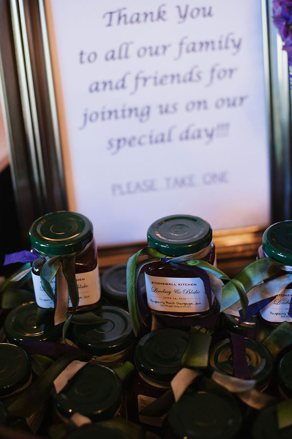 jelly favors for modest wedding at st regis in park city utah- photo by heather nan