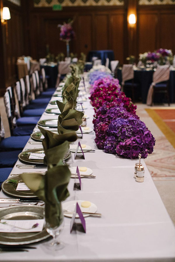 st regis reception hosts ombre wedding in park city utah- photo by heather nan