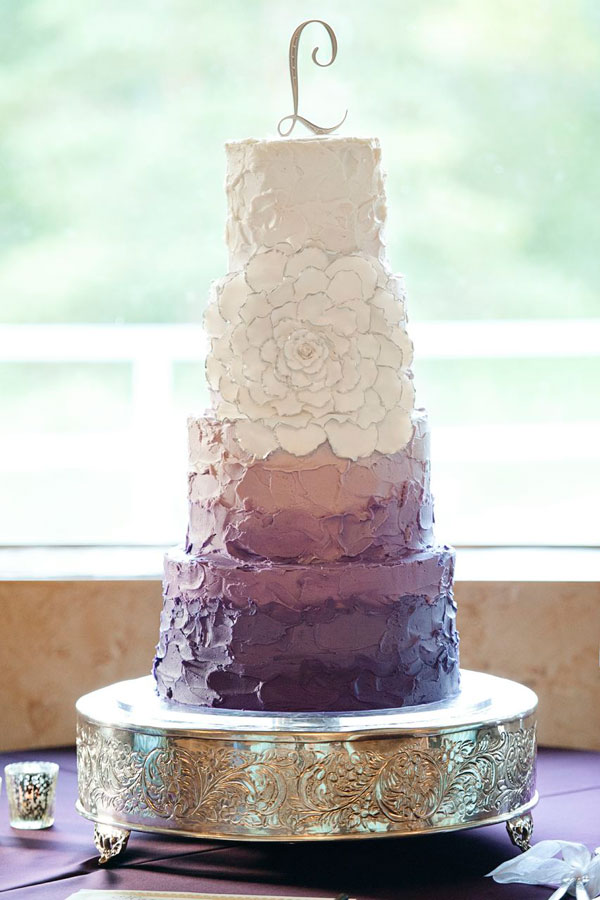 Cakes salt lake wedding cakes cake a licious wedding cakes - Plum Ombre Bridesmaids Dresses By Lily Amp Iris
