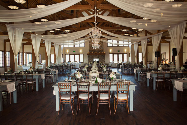 Utah spring wedding reception by Michelle Leo Events