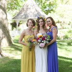 mother of the bride and maid of honor dresses from lily & iris in salt lake city utah- photo by Jacque Lynn photography
