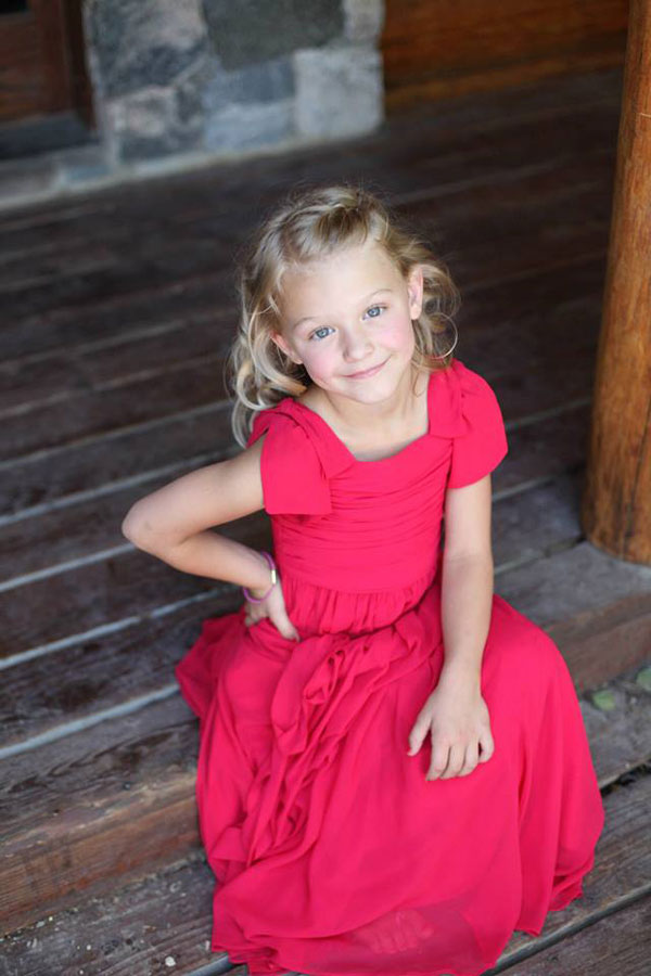 flower girl dresses by the dessy group available at lily & iris in utah