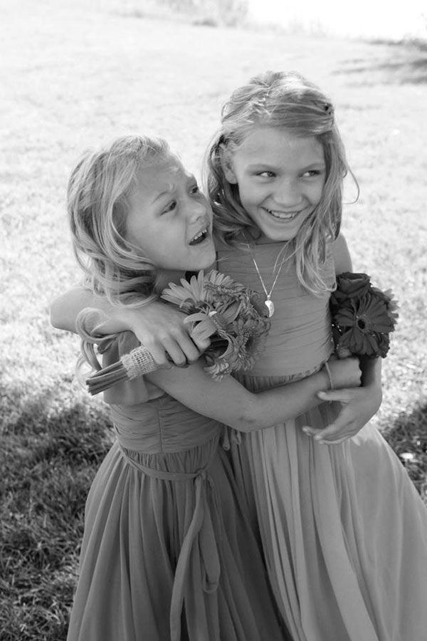 dessy group flower girl dresses for utah wedding- photo by jacque lynn