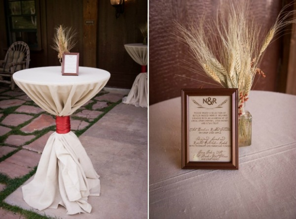 Wheat and spice inspired wedding by Events by LMG in Utah- photo by Zumaphoto