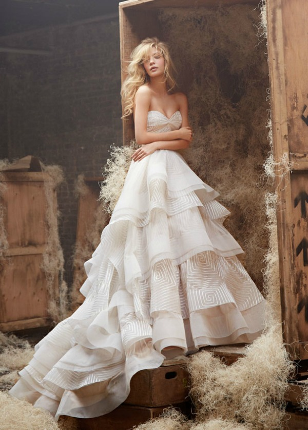 Hayley paige wedding dresses at alta moda bridal salt lake for Hayley paige wedding dress