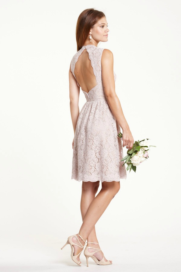 Lace bridesmaids dresses from Watters