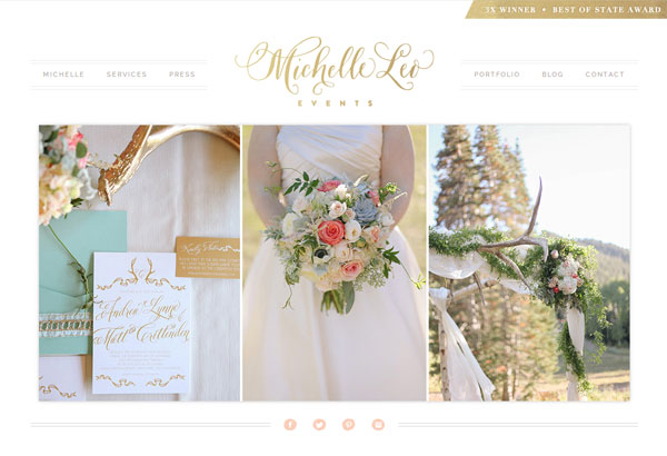 Utah wedding planner Michelle Leo Events